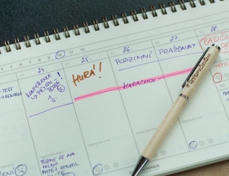 Rodinný kalendář pro pohodu nejen doma