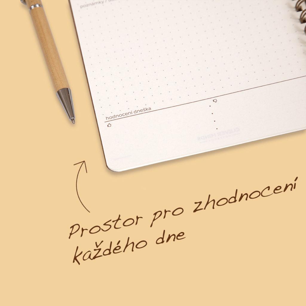 Chcete udržet fokus každý den? Tenhle zápisník vám pomůže.