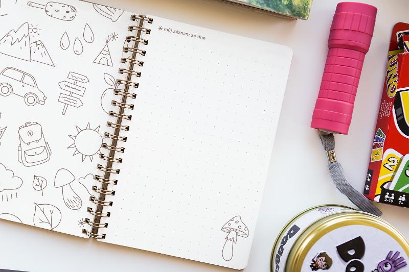 Deník Moje prázdniny skrývá všechna dětská dobrodružství