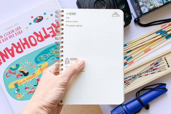 Deník Moje prázdniny